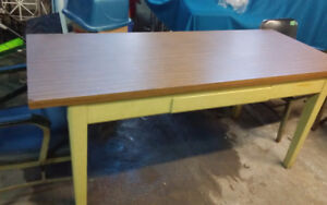 REALLY COOL INDUSTRIAL DESK/CHAIRS $400 BEST TO CALL289-775-2457