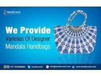 Astonishing Kantha bags from Handicrunch