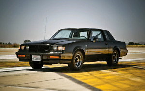 1986-1987  Buick Grand National- T-Type