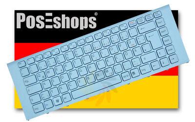 Orig. QWERTZ Tastatur Sony Vaio PCG-61315L PCG-61317L Serie Neu Weiss Rahmen DE