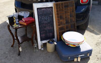 Outdoor Market - Antiques, Vintage, Art, and more!
