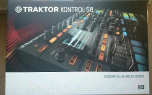 Brand New (Barely used) Traktor S8 in the box!