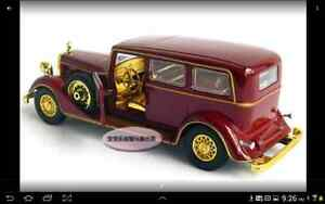 1:32 Cadillac The Chinese Emperor's Car Toy Diecast Model Red London Ontario image 4