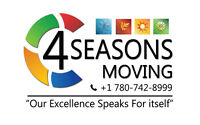 4 Seasons moving ... Number one in fort mcmurray.