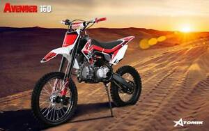 2016 ATOMIK AVENGER 160CC PIT DIRT BIKE MOTOR TRAIL MX BIG WHEELS Keysborough Greater Dandenong Preview