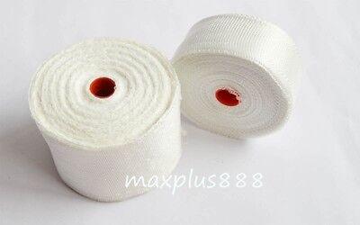 3pcs Fiberglass Cloth Tape E-glass Wide 25mm Wl25mm X 30m Fiber Plain Weave