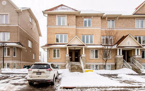Upper End Unit Faces Park- 2 Master with Ensuites + Loft !