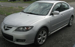 2007 Mazda 3 GT Great Condition
