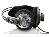 Headphones (Studio Class AKG K142HD) like new Retail 99.99£