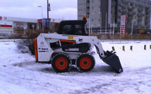 Skid steers available for rent - Bobcat S650 & S590