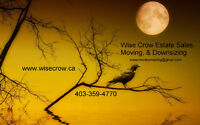 WISE CROW Estate Sales, Moving, & Downsizing