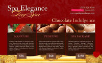Valentines Chocolate Spa Packages