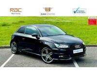 2016 Audi A1 1.4 TFSI 150 Black Edition 3dr HATCHBACK Petrol Manual