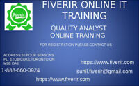 ONLINE TRAINING WITH PLACEMENT QUALITY ANALYST (MANUAL &SELENIUM