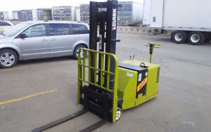Electric forklift/ clark stacker for sale 4000Lbs capacity