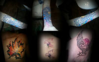 Tattoo work for 65$/h this December