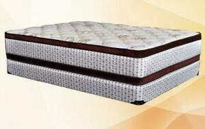 Orthopedic Double-Sided Euro Top Mattress King / Beige