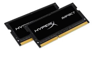 Kingston HyperX 8GB Laptop memory (2 X 4GB),