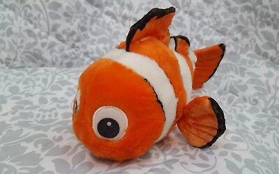 "Disney Pixar Finding NEMO 11"" Plush Authentic Theme Park Merchandise"