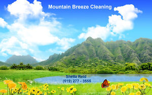Mountain Breeze Cleaning Kitchener / Waterloo Kitchener Area image 1