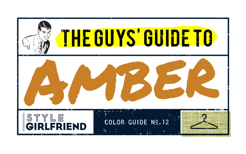how to wear amber orange