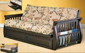 *** BRAND NEW *** HUGE SALE *** FUTON FRAME WITH MAGAZINE RACK**LIMITED STOCK****