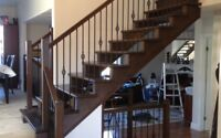 Hardwood stairs and installation & general contractor
