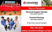 Parry Sound - Personal Support Worker(PSW)/Practical Nursing(PN)