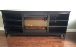 Price drop!! Electric fireplace/TV stand