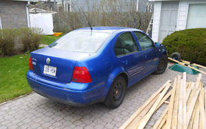 Vw Jetta 2001 bleu flash