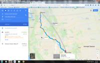 Driving Kelowna - Utah