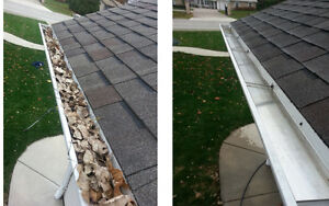 GUTTER CLEANING starting at $100.00