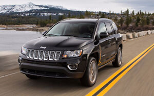 2014 Jeep Compass Sport SUV, FWD 4 cyl, 2.4 L, Manual 5-spd