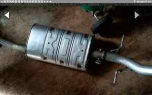 exhaust from 2014 chev extended cab like new less than 1000km
