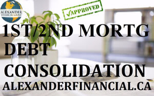 1st & 2nd MORTGAGES, DEBT CONSOLIDATION, RENEWAL, REFINANCING