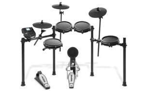 BRAND NEW Alesis Nitro Mesh Drum Kit, 8-Piece Electronic Drum Ki