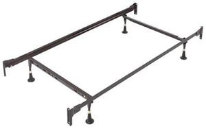 Deluxe Metal Bed Frame - Twin Twin / Black / Metal