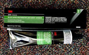 3M 08008 Black Super Weatherstrip Adhesive (5 oz)