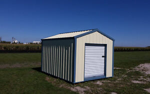 Durable Storage Sheds - 40yr Steel Siding and Roofing