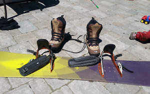 K2 Snowboard, Boots, and Bindings