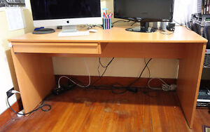 Office Computer Desk, Solid Hardwood