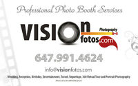 Professional Photo Booth Services – GTA, York Region and Durham