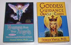 Set of 2 Doreen Virtue Oracle Reading Cards London Ontario image 1