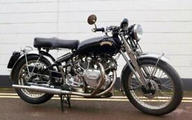 1952 Vincent Rapide Series C 998cc - All Original Matching Example - Restored !!