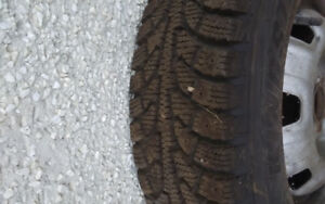 175 / 70 / R13 Near New Winter Tires 4 Sale !