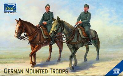 Riich Models RV35038 - 1/35 German Mounted Troops - Neu