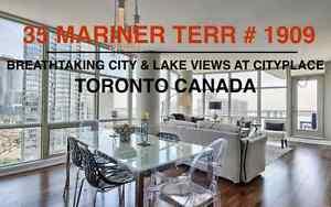 Breathtaking 1200 SQ FT CityPlace Condo. Prime City + Lake Views