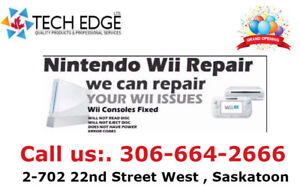 Nintendo, Wii U, Wii, Xbox and PS4: Repair Services