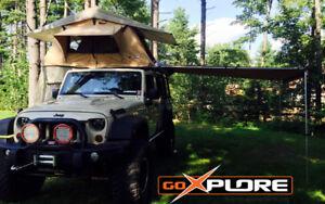 Auvent Go Xplore™ NEUF Jeep, voiture, VUS, Wesfalia