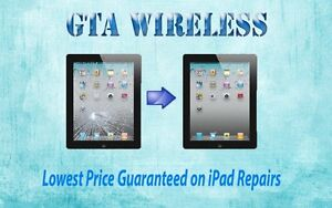 Repair Cracked iPad 1 2 3 4 AIR On The Spot From Just $49! +WRTY